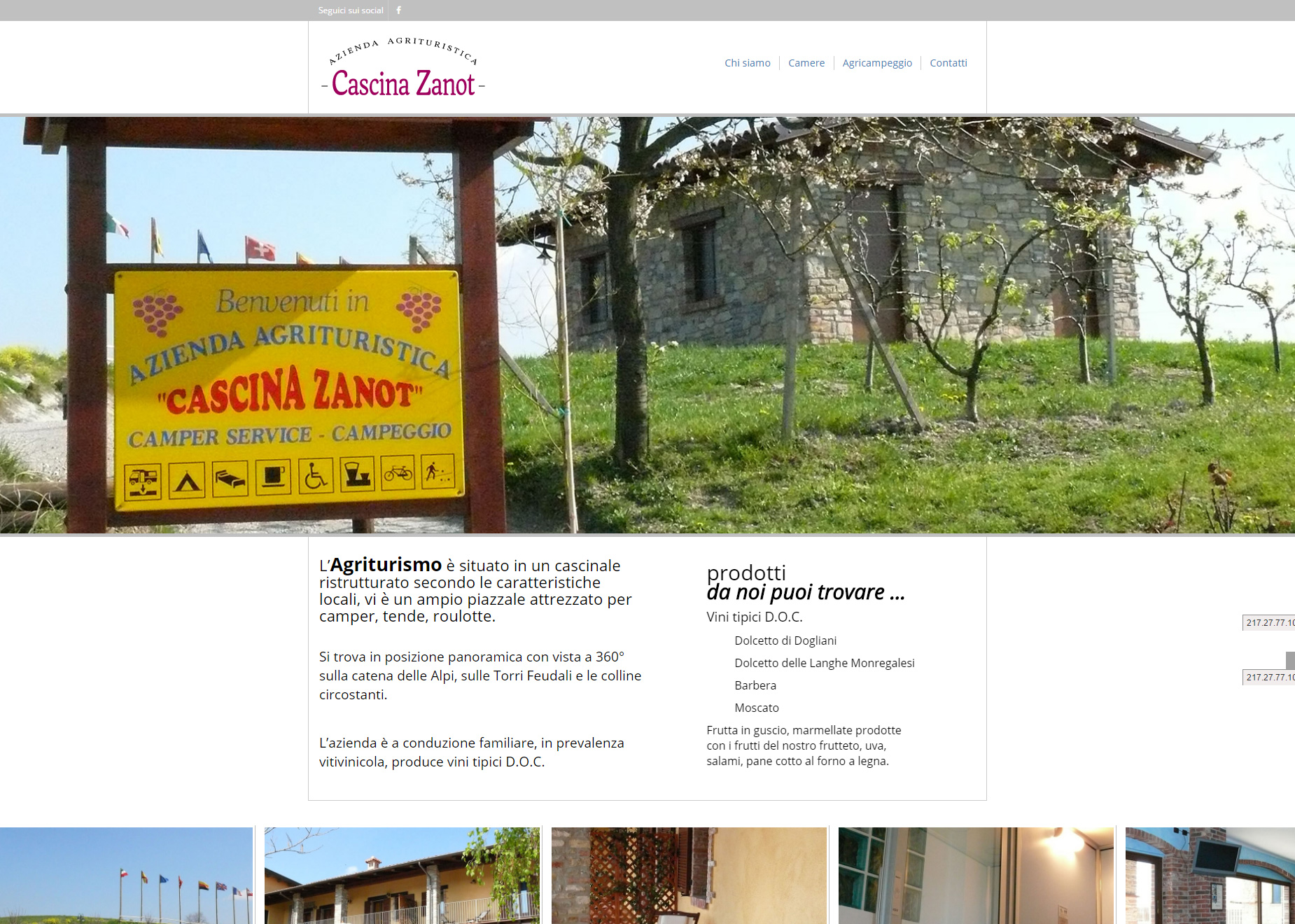 AGRITURISMO CASCINA ZANOT