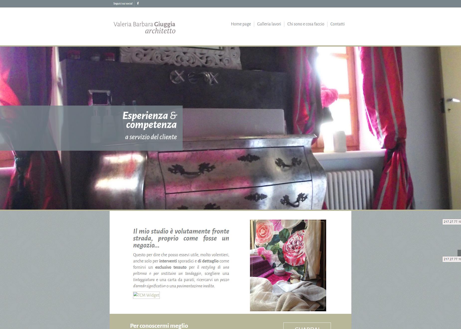 Architetto giuggia saluzzo il tuo sito on line portfolio for Sii il tuo architetto