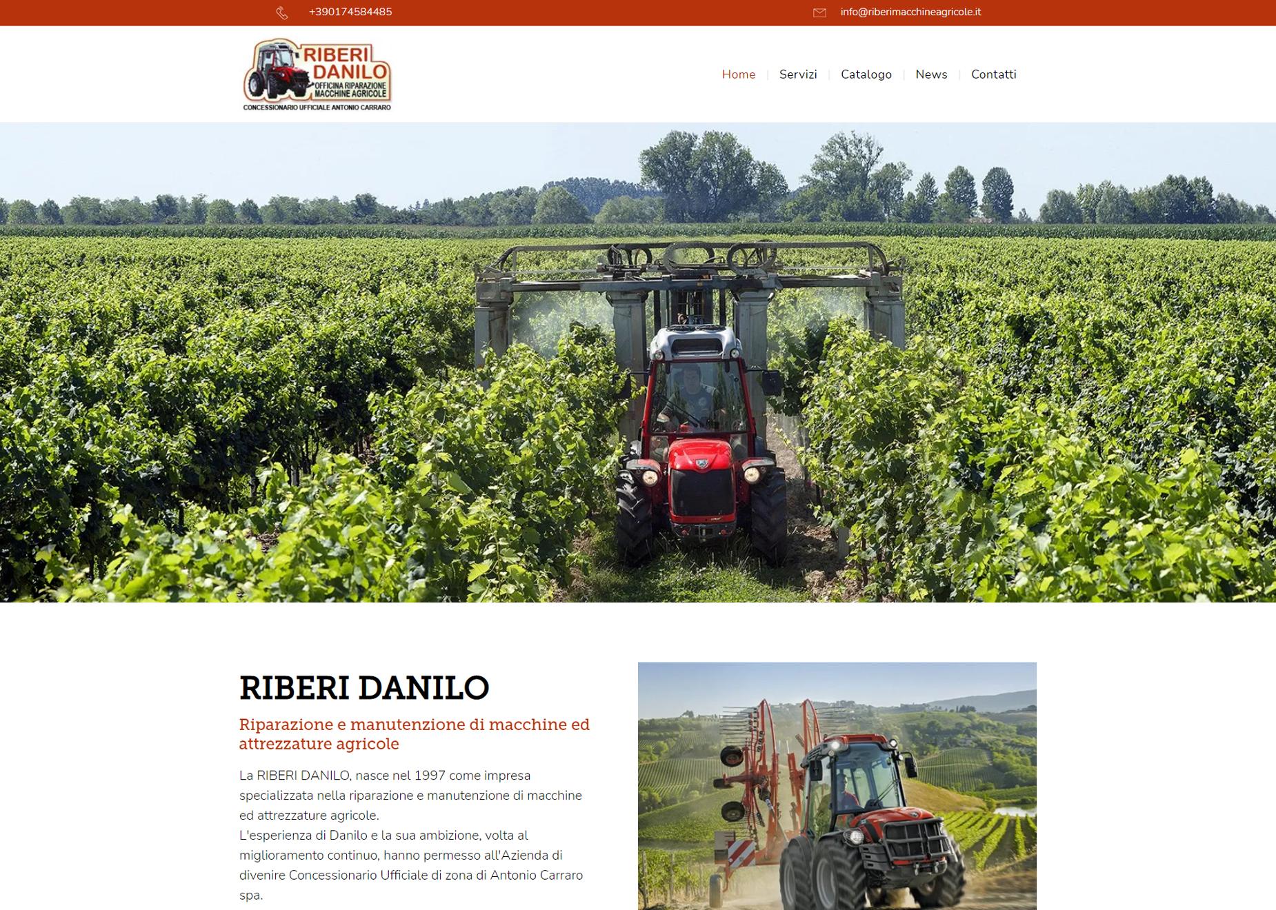 Riberi macchine agricole